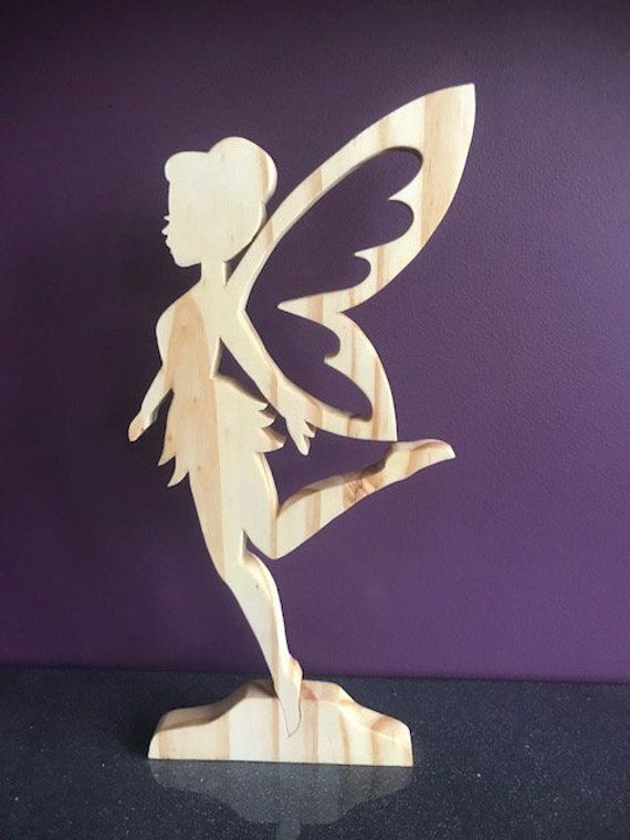Beautiful crafted natural wooden fairy, Gift, Mother, Sister, Birthday, Wedding #arquitectonico