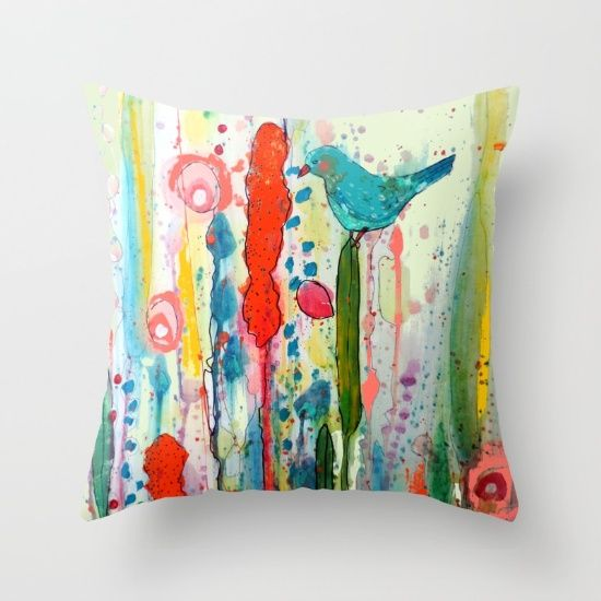 Animal Cushions Fabric Painting Cushion Covers Throw Pillows Toss On Paint Designs Pillow Shams