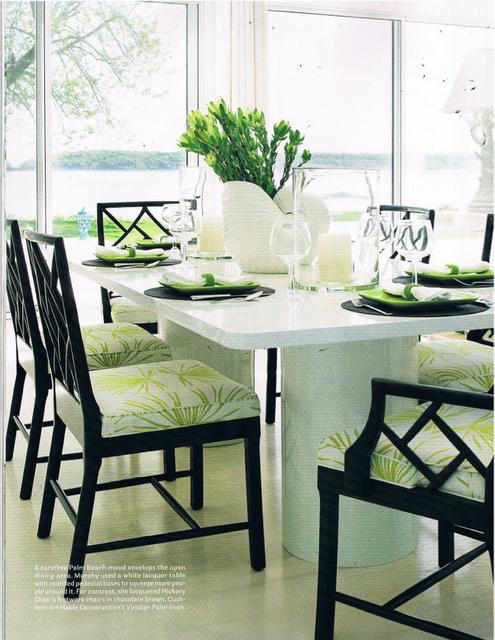 Christina Murphy Interiors Bamboo Dining Chairs Home Decor