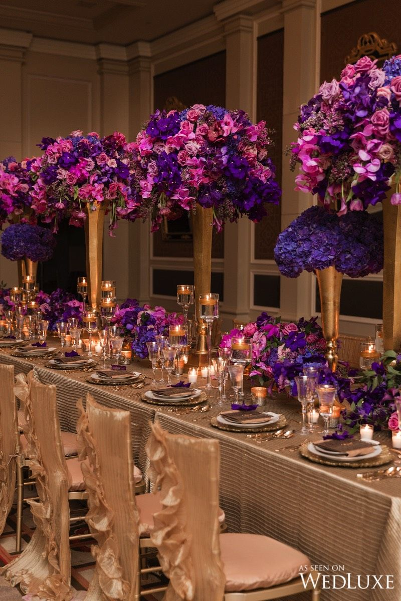Karen Tran Master Floral Class Wedding Wedding Centerpieces