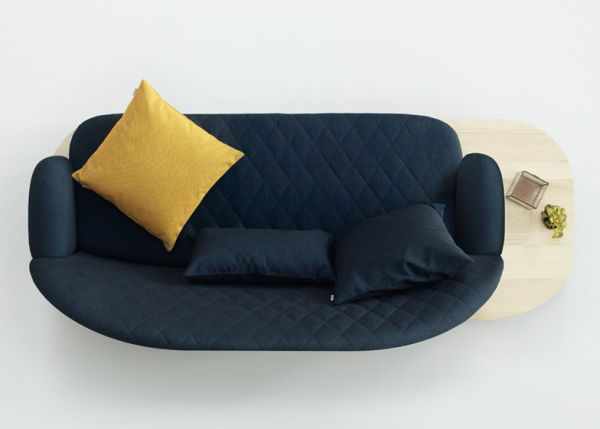 Modular Rise Sofa By Note Design Studio | Modular sofa and Foot stools