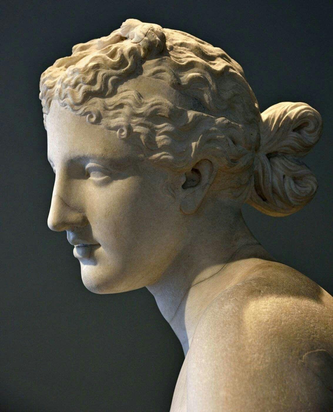 Aphrodite priestessess shaved head
