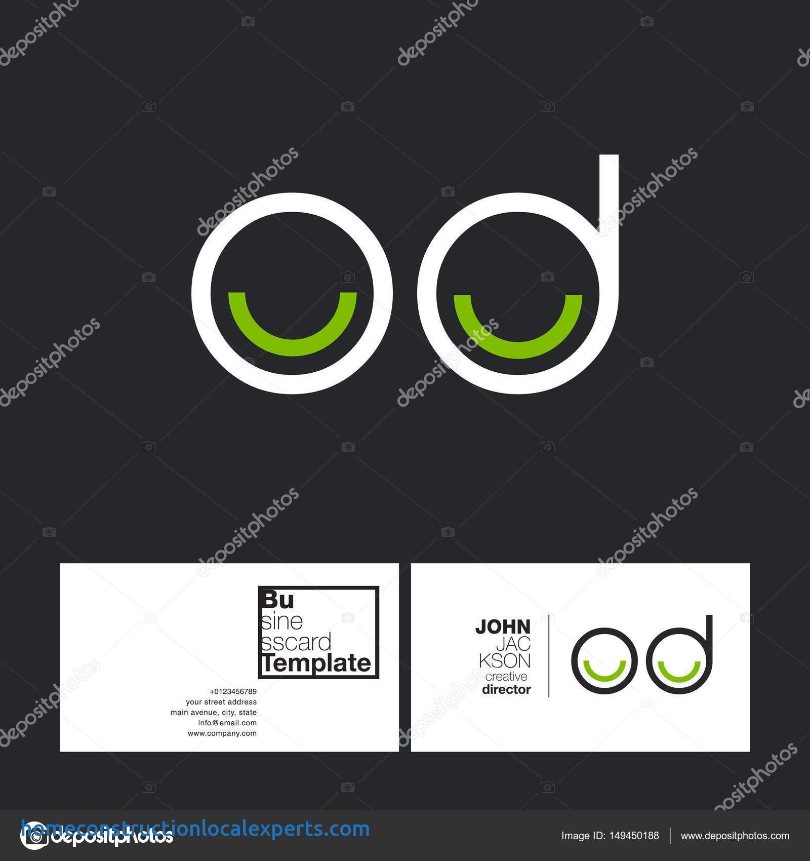 2 Sided Business Card Template Word In 2020
