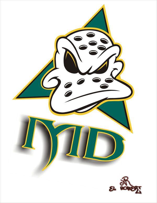 c7e12ce67 The Mighty Ducks Cartoon Logo By El Ralo Clipart - Free Clip Art ...