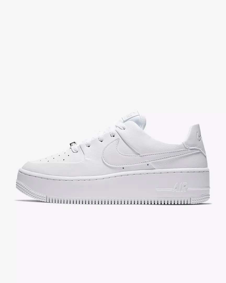 air force 1 sage donna bianche