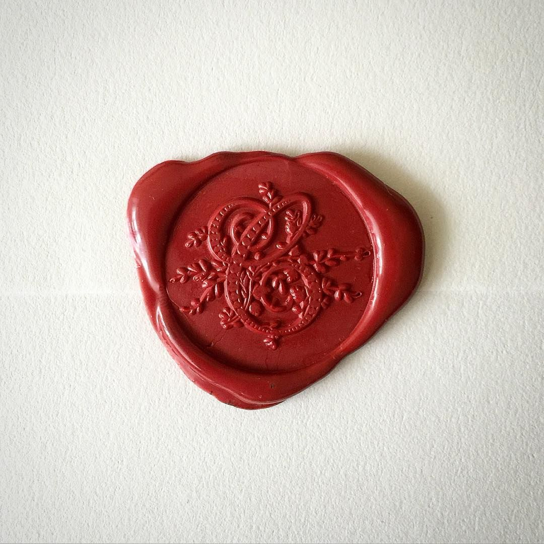 Heypenman On Instagram Nothing Like A Freshly Wax Sealed Envelope Love This Opaque Red Wax Looks Like Carved Carnelian Wax Stamp Wax Seal Stamp Wax Seals