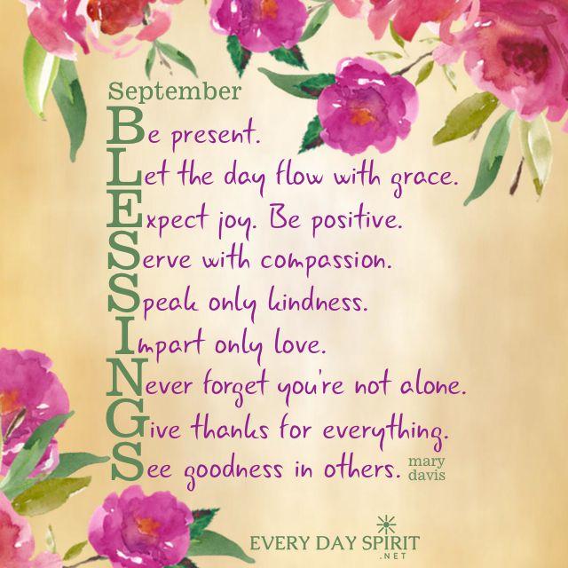 Free Desktop Wallpaper Scripture Fall Inspiring September Blessings With Great Love Blessings September