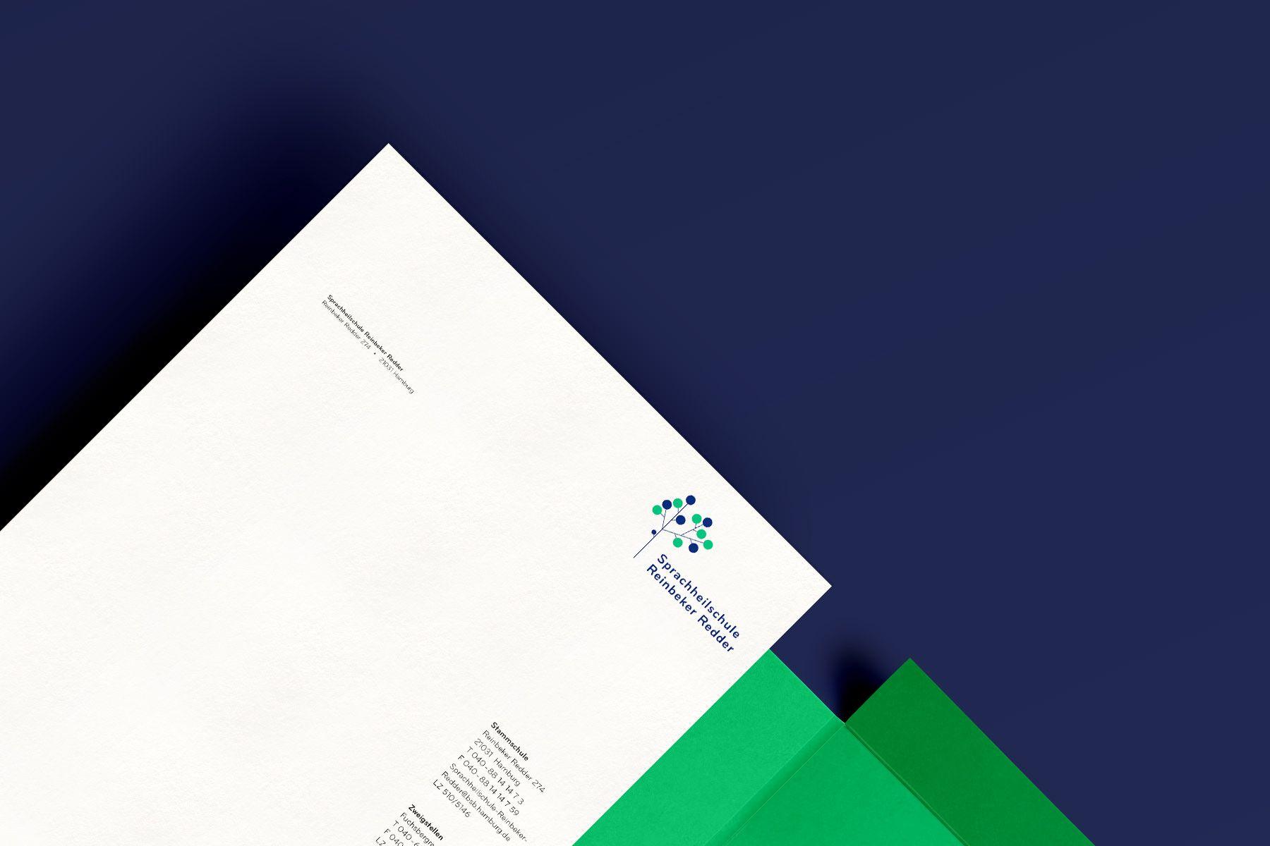 Sprachheilschule Reinbeker Redder — Jens Windolf — Grafikdesign und Art Direction