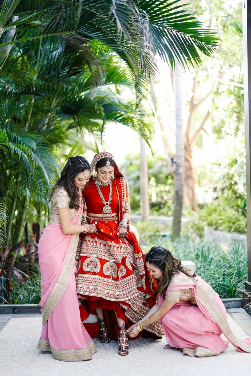 An Opulent Bali Wedding With The Bride in Deepika's ...