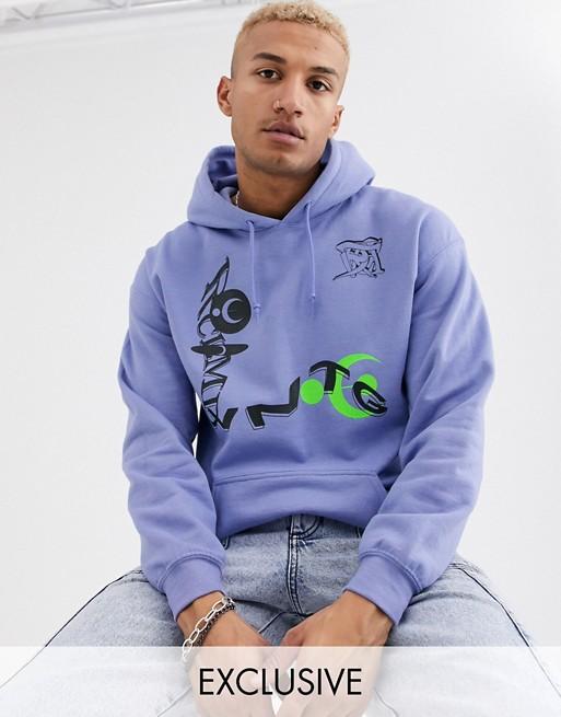 Reclaimed Vintage Oversized Hoodie In Lilac Oversize Hoodie Hoodies Asos Sweatshirt
