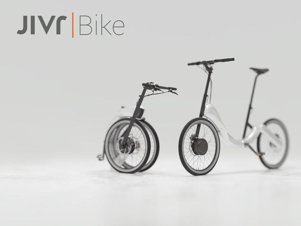 世界初 チェーンのない折りたたみ電動自転車 Jivr Bike 折りたたみ電動自転車 電動自転車 自転車
