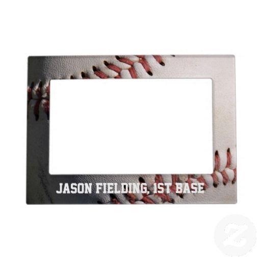 Baseball Magnetic Photo Frame | Baseball photos and Magnetic photo ...