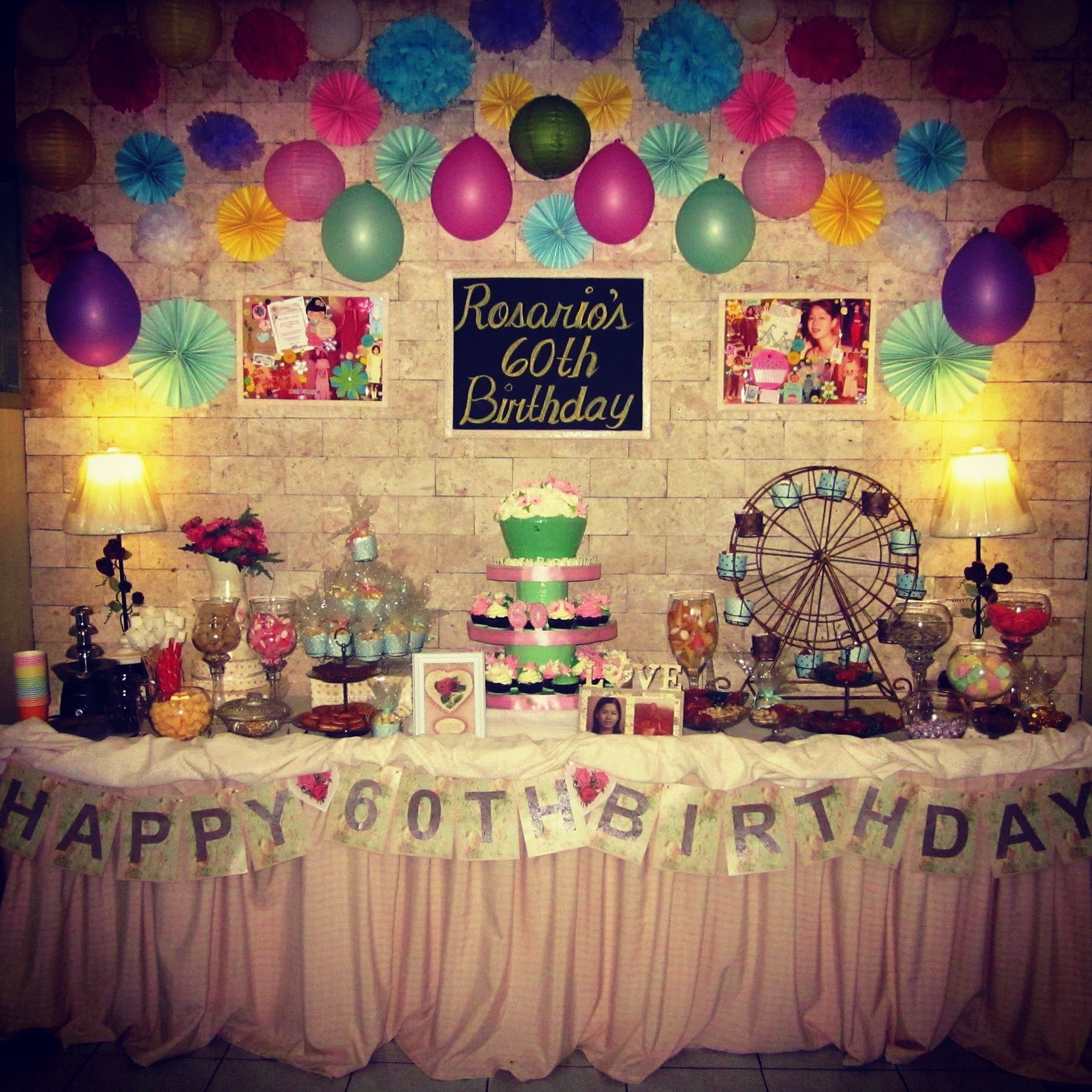 Marvelous Games For 60Th Birthday Party Ideas 60th Mom Plus Mum Gift