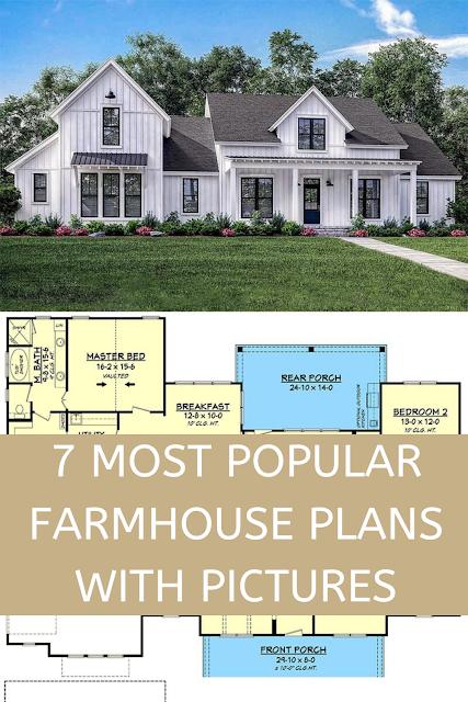 19+ Most popular farmhouse plans inspiration