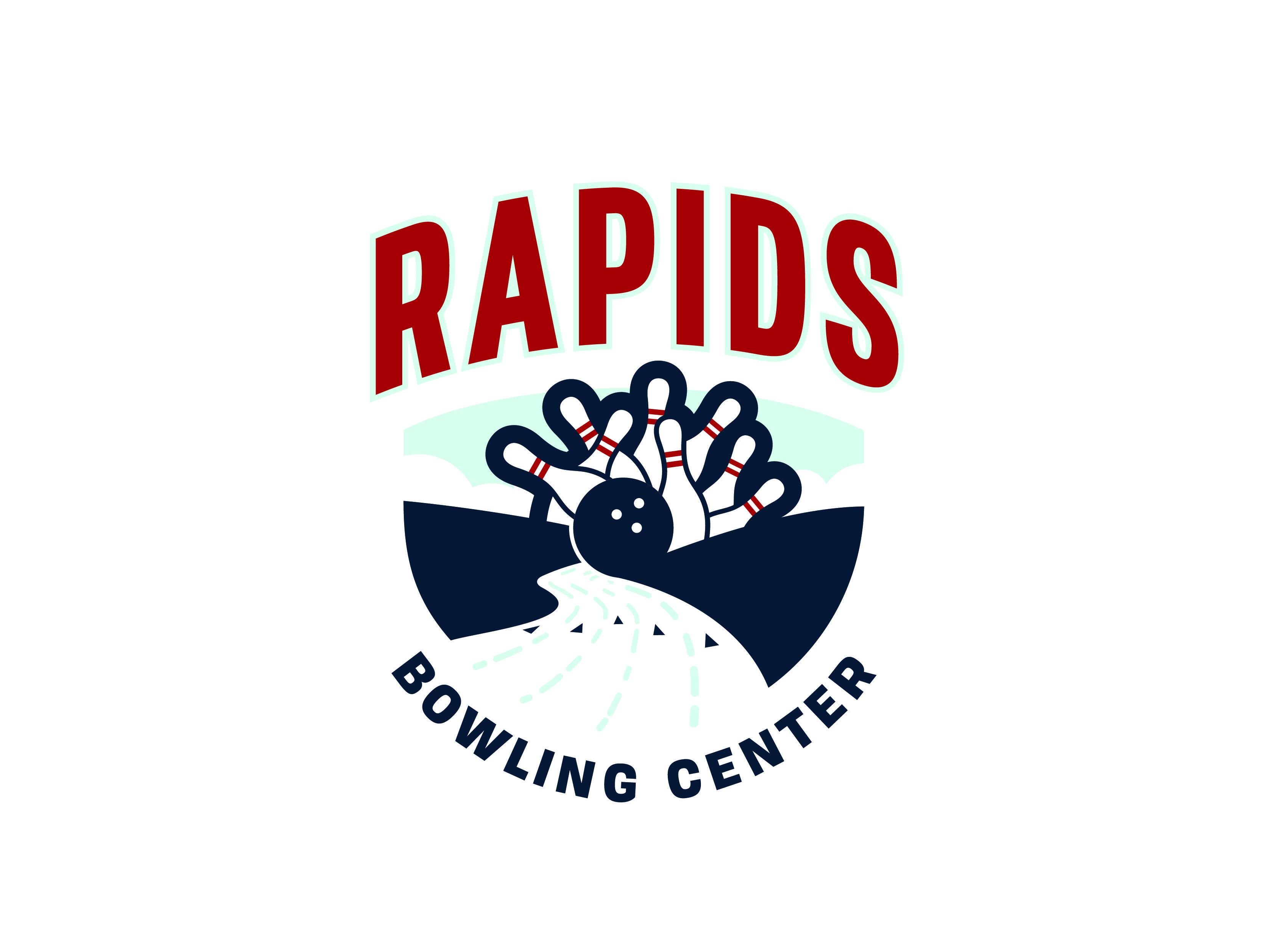 Rapids Bowling Logo Concept Graveyard 1 2 Logo Concept Bowling Logos