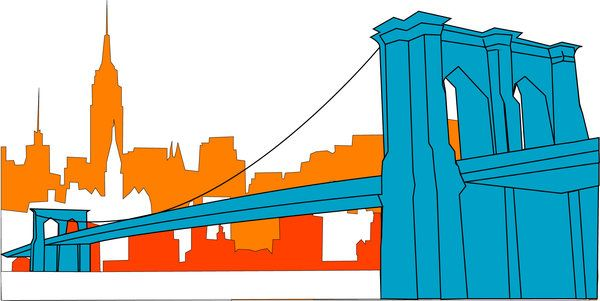 deviantart more like brooklyn bridge vector by cwilwol hip hop rh pinterest nz Brooklyn Bridge Tattoo Brooklyn Bridge Tattoo