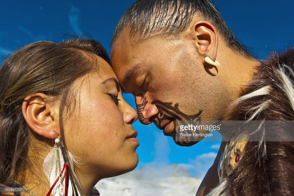 Customs this image is of two people doing the greeting hongi and customs this image is of two people doing the greeting hongi and the male m4hsunfo