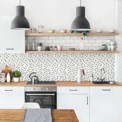 Photo of Ebern Designs PVC Spritzschutzpaneel Selbstklebend Aydan Winterset | Wayfair.de