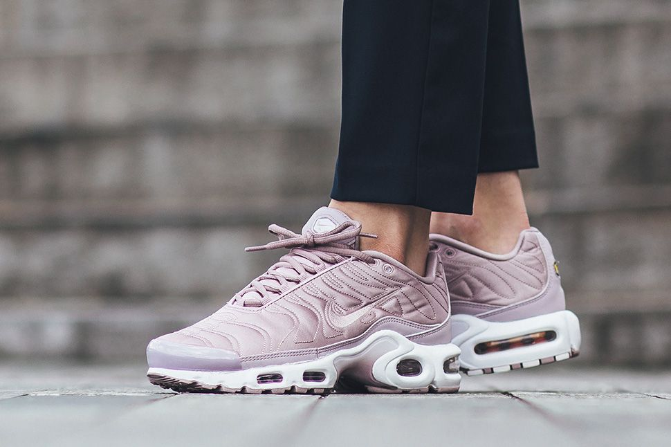 The Nike WMNS Air Max Plus SE Satin Pack is Releasing Beyond Foot ...