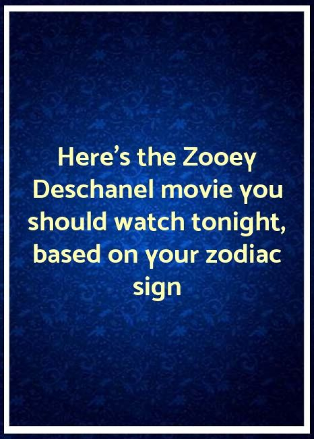 Zooey deschanel astrology compatibility
