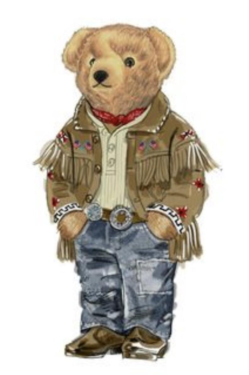 Polo Bear Ralph Lauren Sticker Laptop Sticker Bumper Etsy In 2021 Bear Illustration Bear Sticker Collection