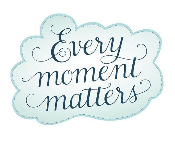 Clipart numérique de motivation Motivation Chaque moment compte Aphorisme Vector Image Calligraphie moderne Citation de 3 mots Numérique Téléchargement Graphiques -