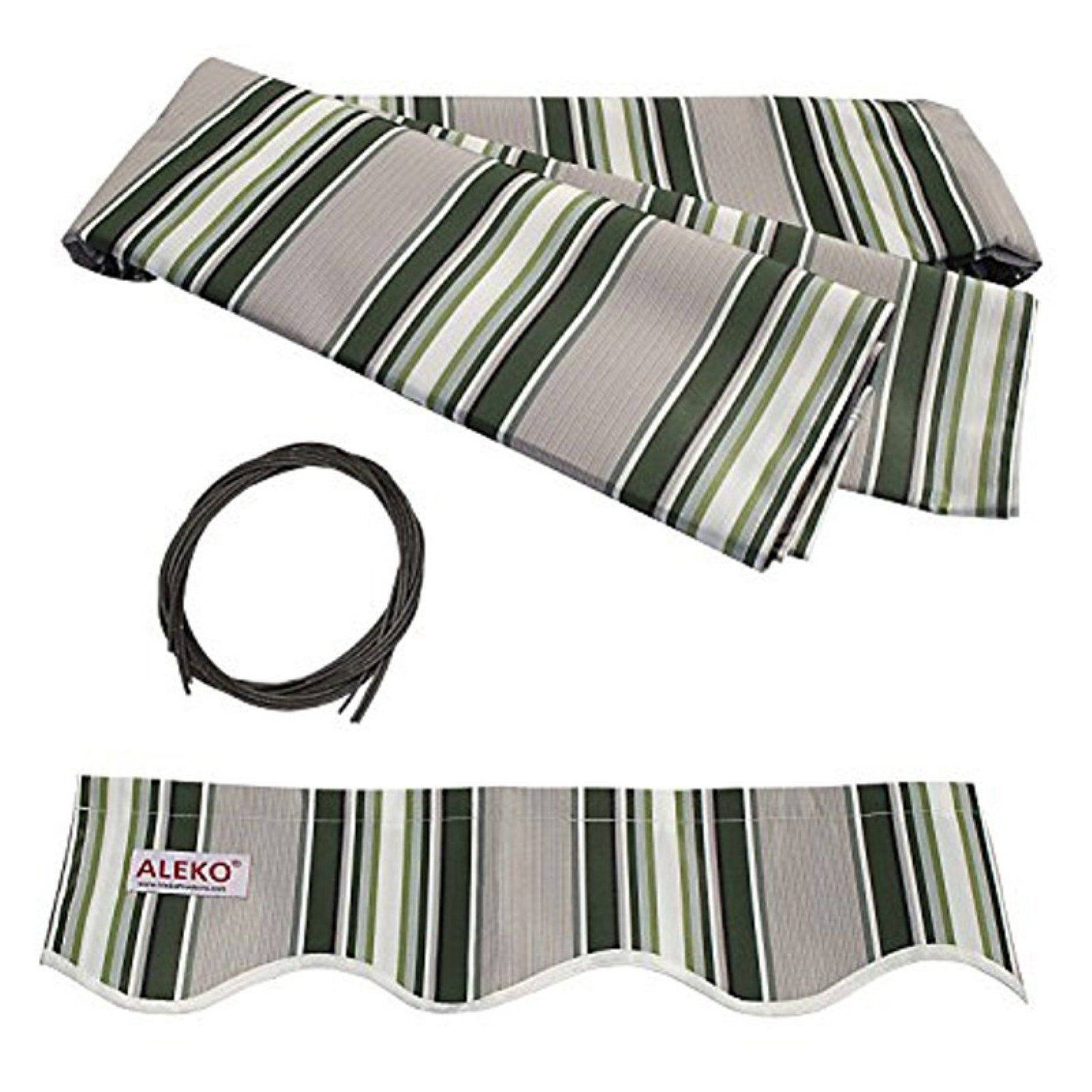 Aleko 13 X 10 Ft Retractable Awning Fabric Replacement Retractable Awning Patio Awning Fabric Awning