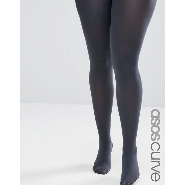 660bb074380 ASOS CURVE 80 Denier Tights ($9.22) ❤ liked on Polyvore featuring ...