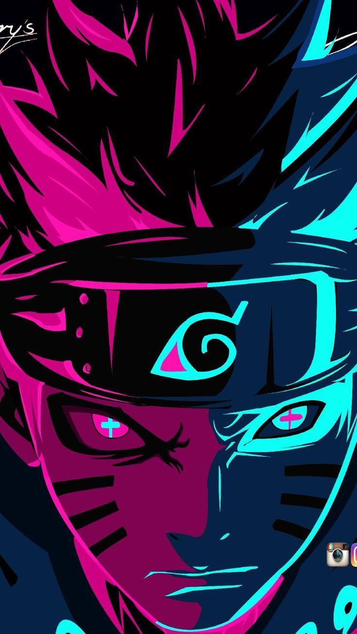 Naruto Neon Naruto And Sasuke Wallpaper Naruto Uzumaki Shippuden Naruto Shippuden Sasuke