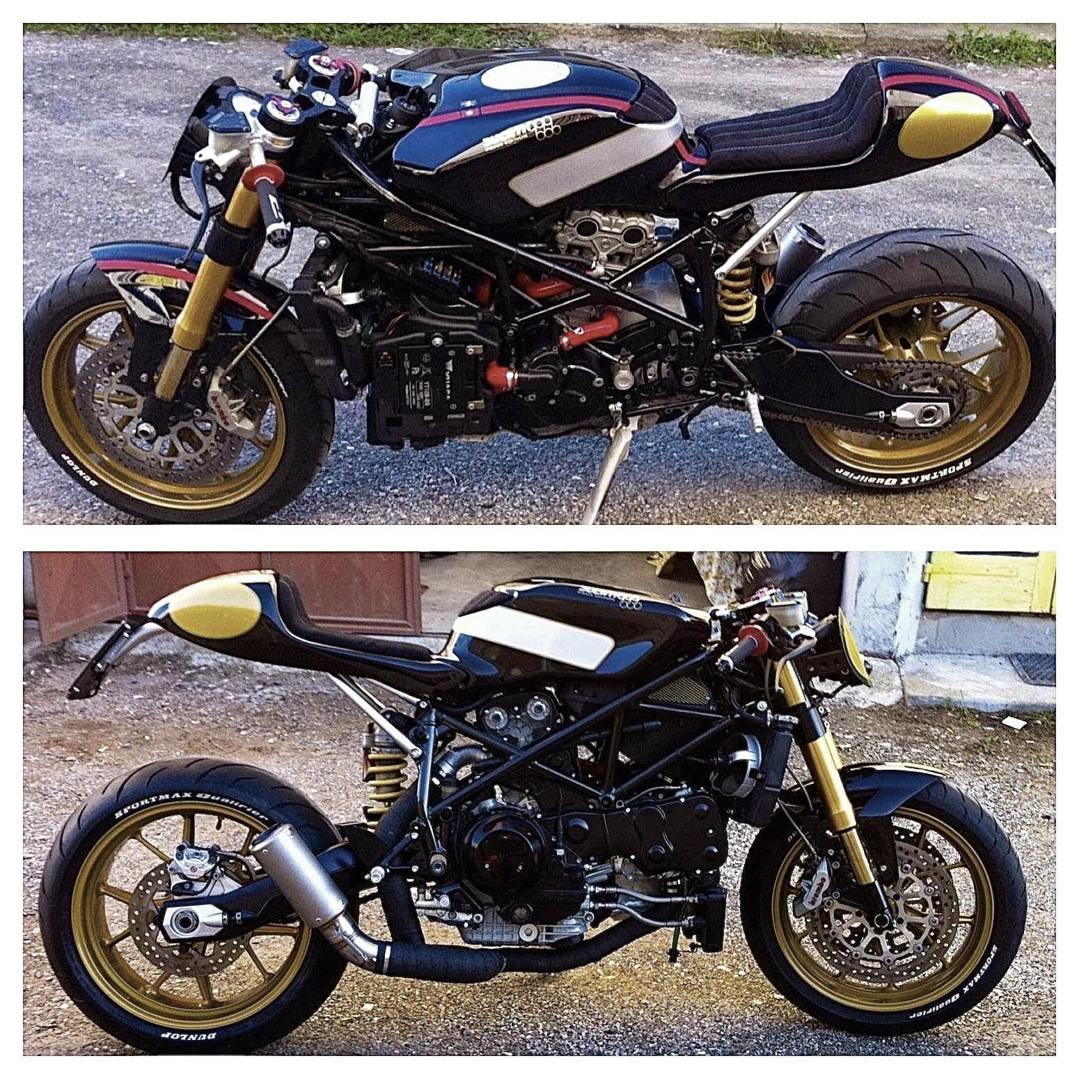 RocketGarage Cafe Racer: Ducati 999 Pirate edition