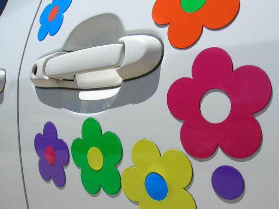 91d7cde7 flower car magnet | flower car magnets $ 9 75 flower car magnets will wash  away those .