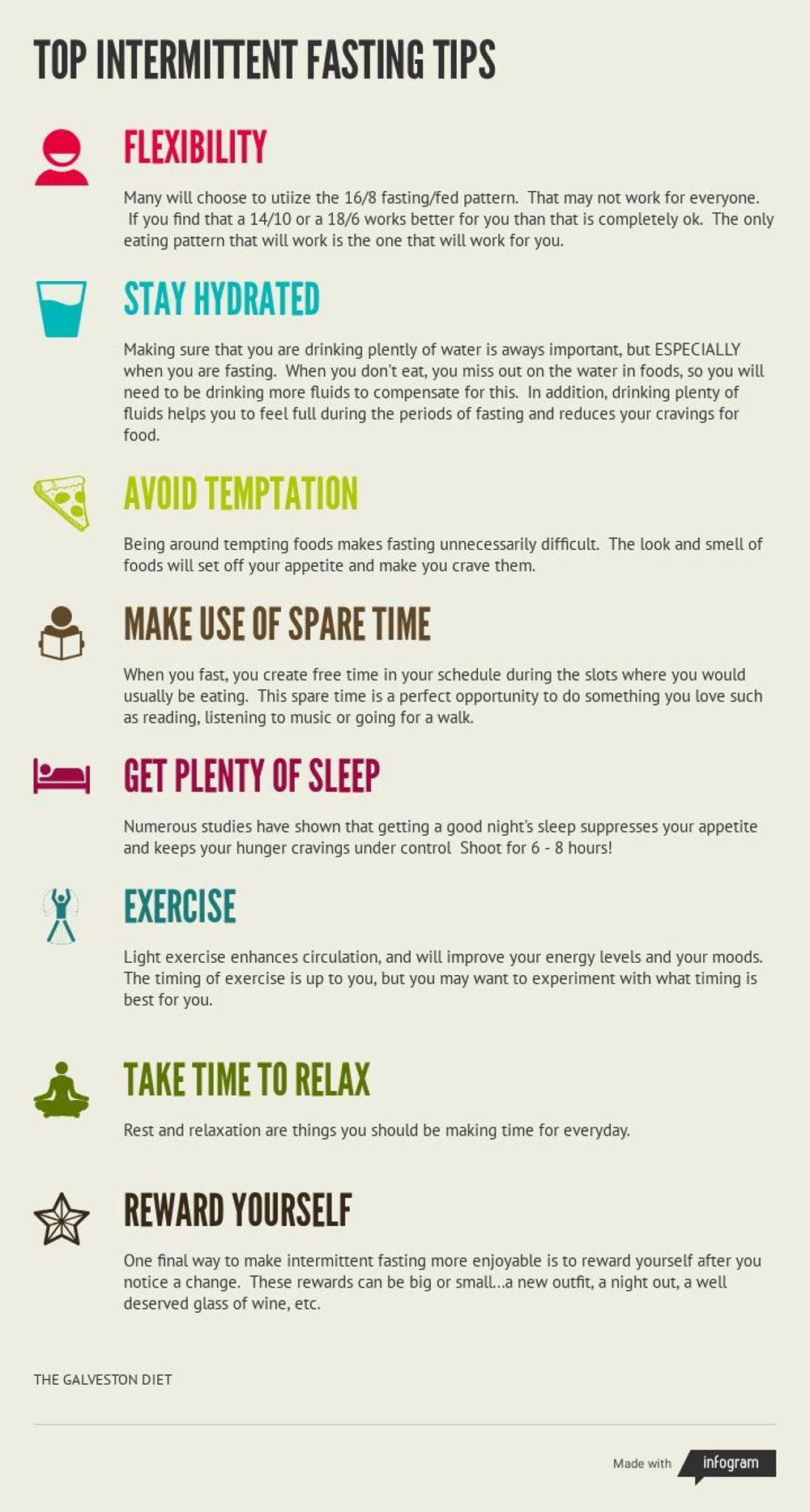 Top Ten Tips For Intermittent Fasting
