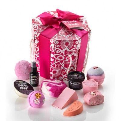think pink - LUSH gift set <3   Lush   Pinterest   LUSH, Gift sets ...