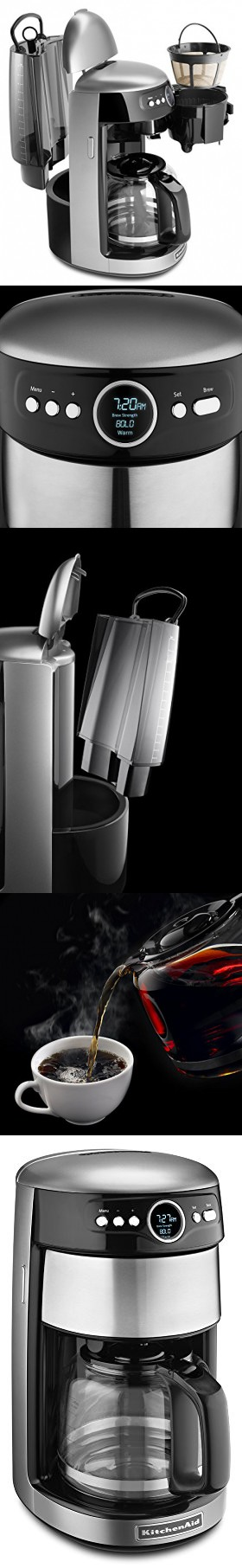 KitchenAid KCM1402CU 14Cup Glass Carafe Coffee Maker