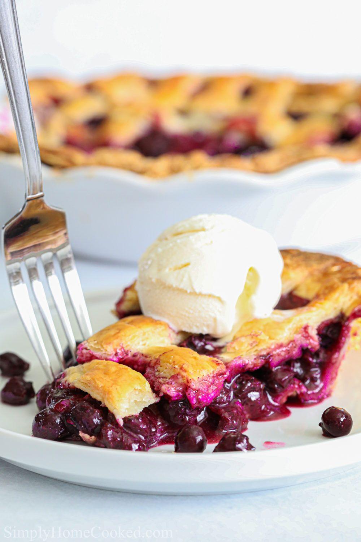 Blueberry pie recipe video homemade pie recipes best