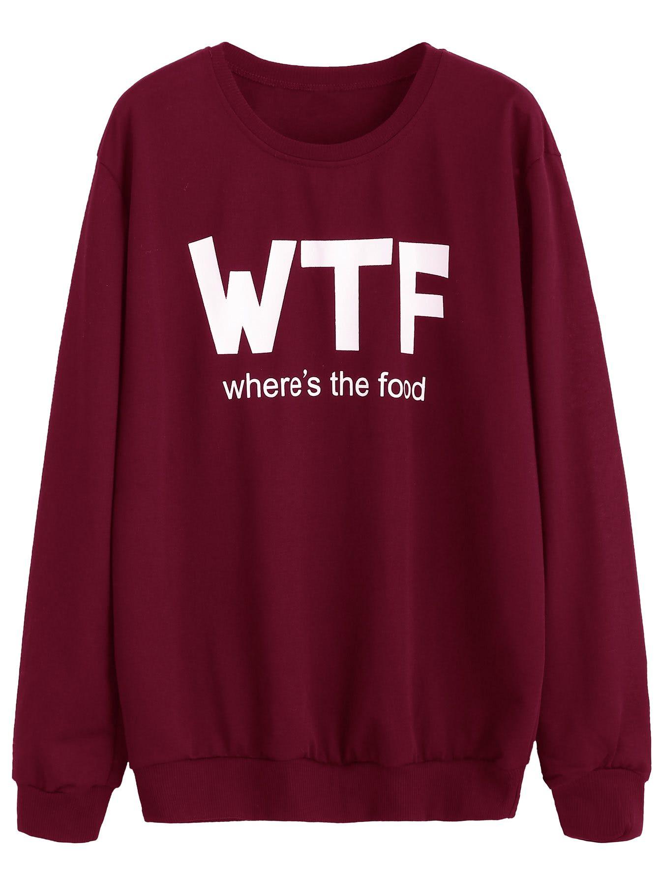 Sweatshirt mit Slogan-Druck