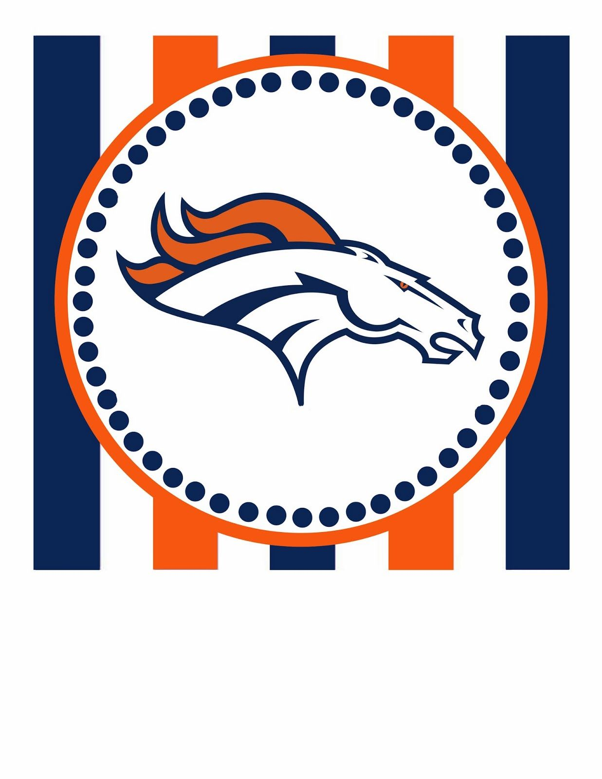 Denver Broncos Printables