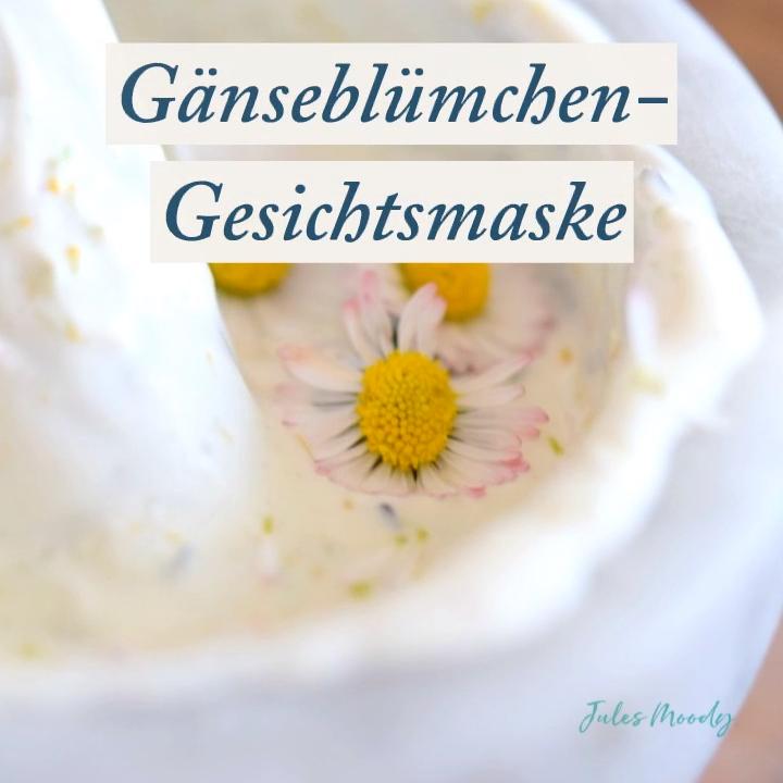 Photo of Gänseblümchen-Gesichtsmaske: Porenverfeinernd und ausgleichend