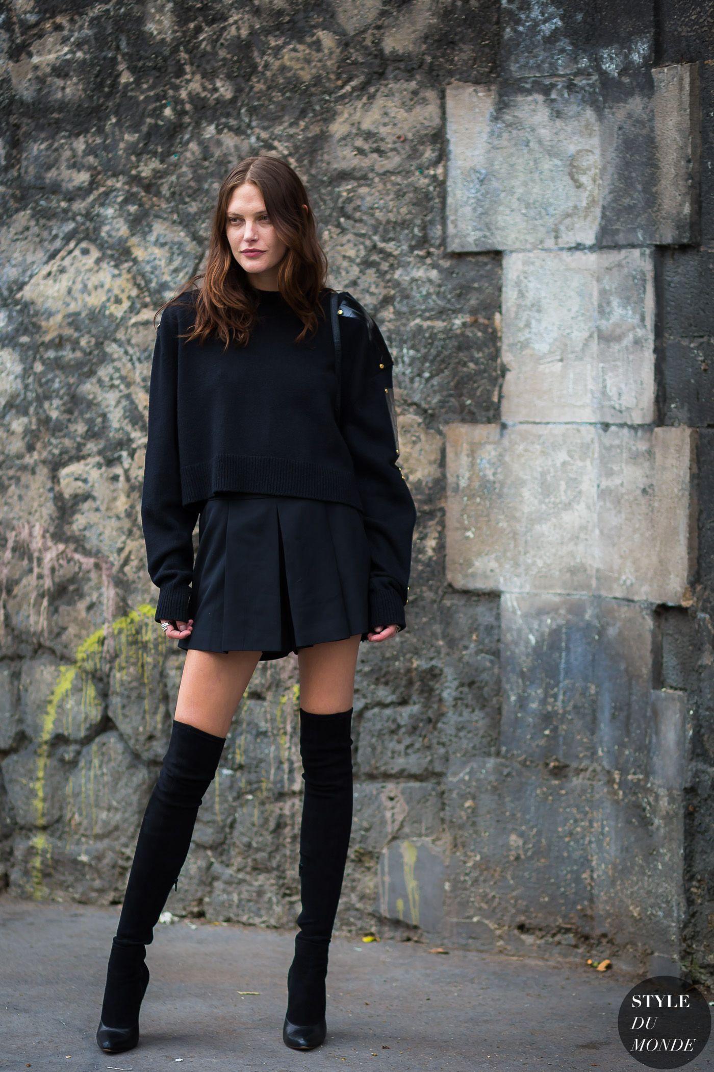 Paris Ss 2017 Street Style Catherine Mcneil My Style Pinterest