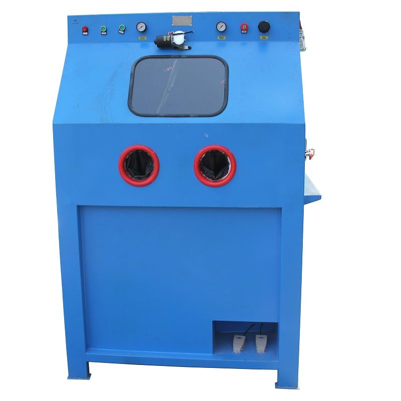 wet sandblasting machine supplier, wet sandblasting cabinet, wet