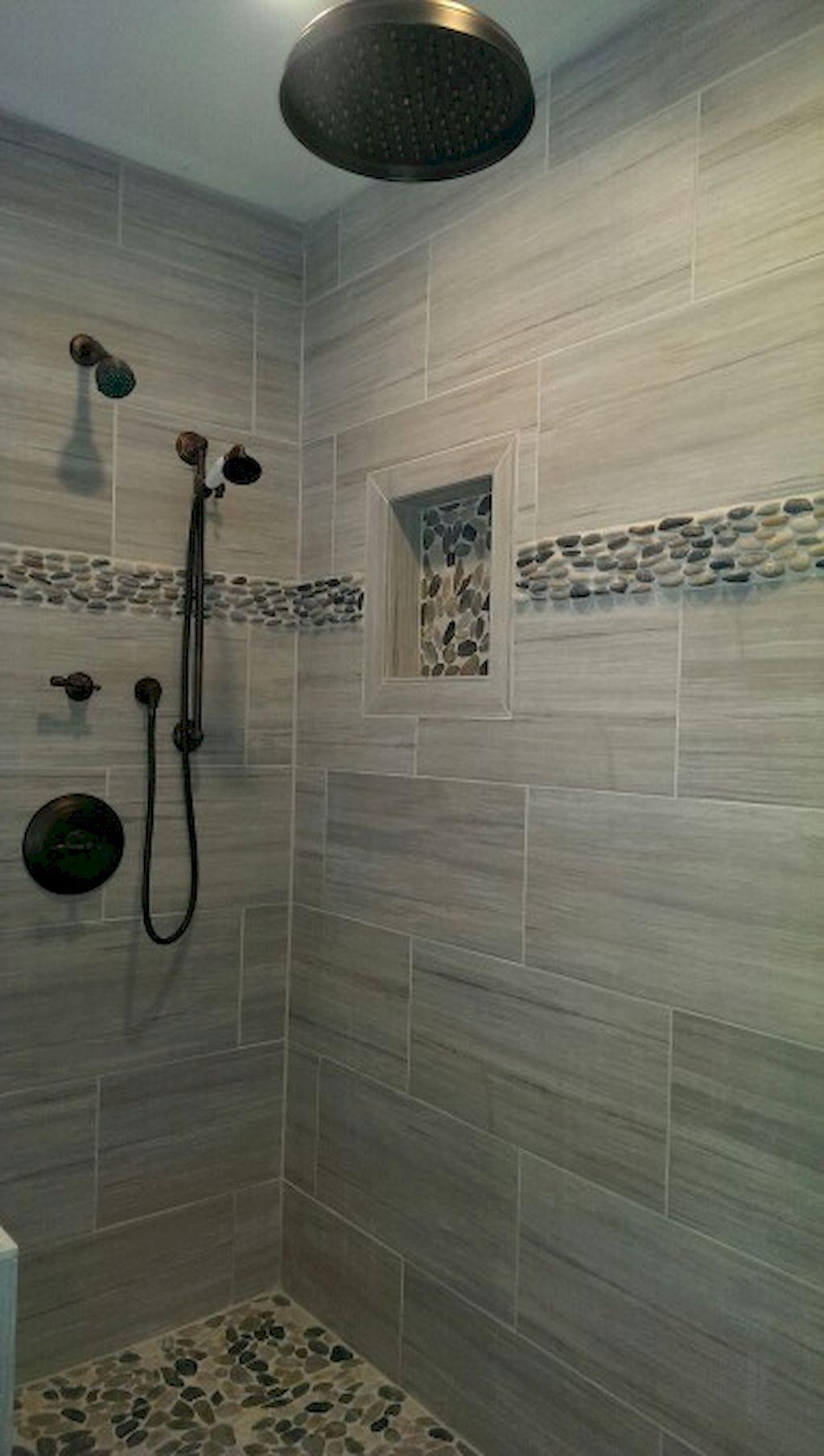 Stunning master bathroom remodel 22 Stunning master