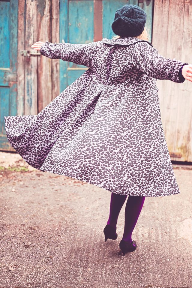 My coat! my gorgeous dress coat! All handmade just for me by the very talented CraftyCoo!