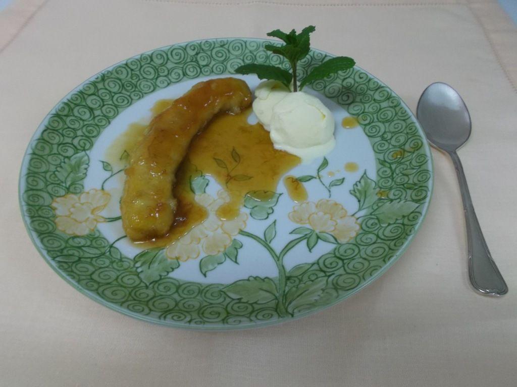 Banana caramelada - do Segredos da tia Emília.com.br