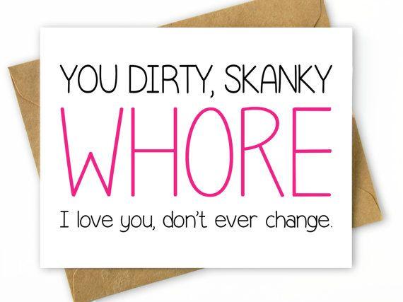 Funny Birthday Card for Friend Best Friend Birthday Card Dirty – Funny Cards for Friends Birthday