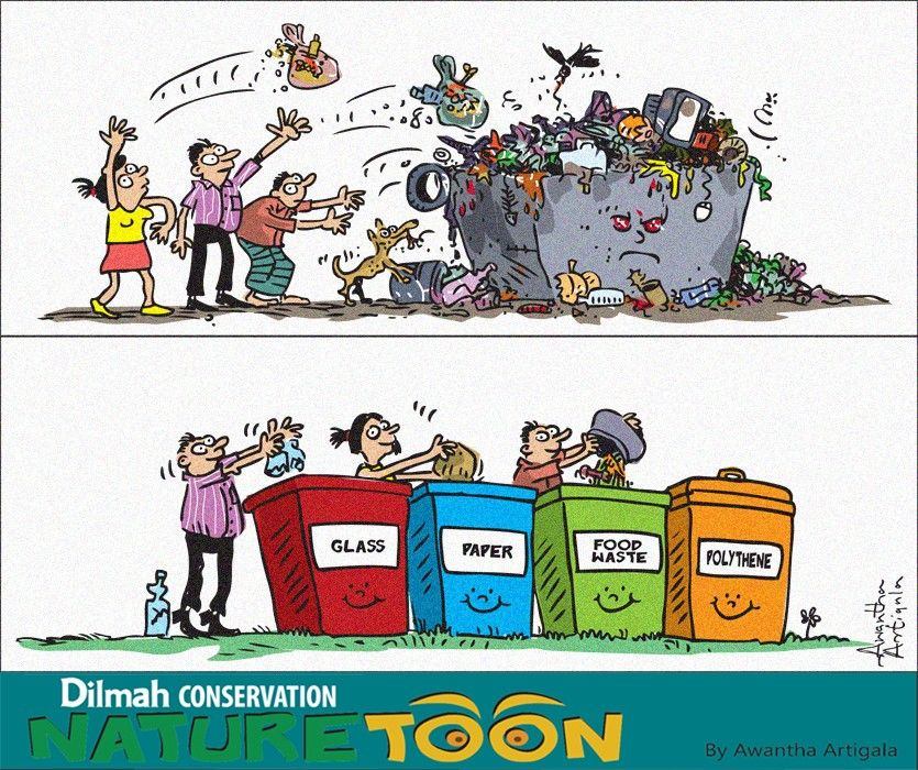 We Don T Need To Dump Garbage Compost Recycle Upcycle And The