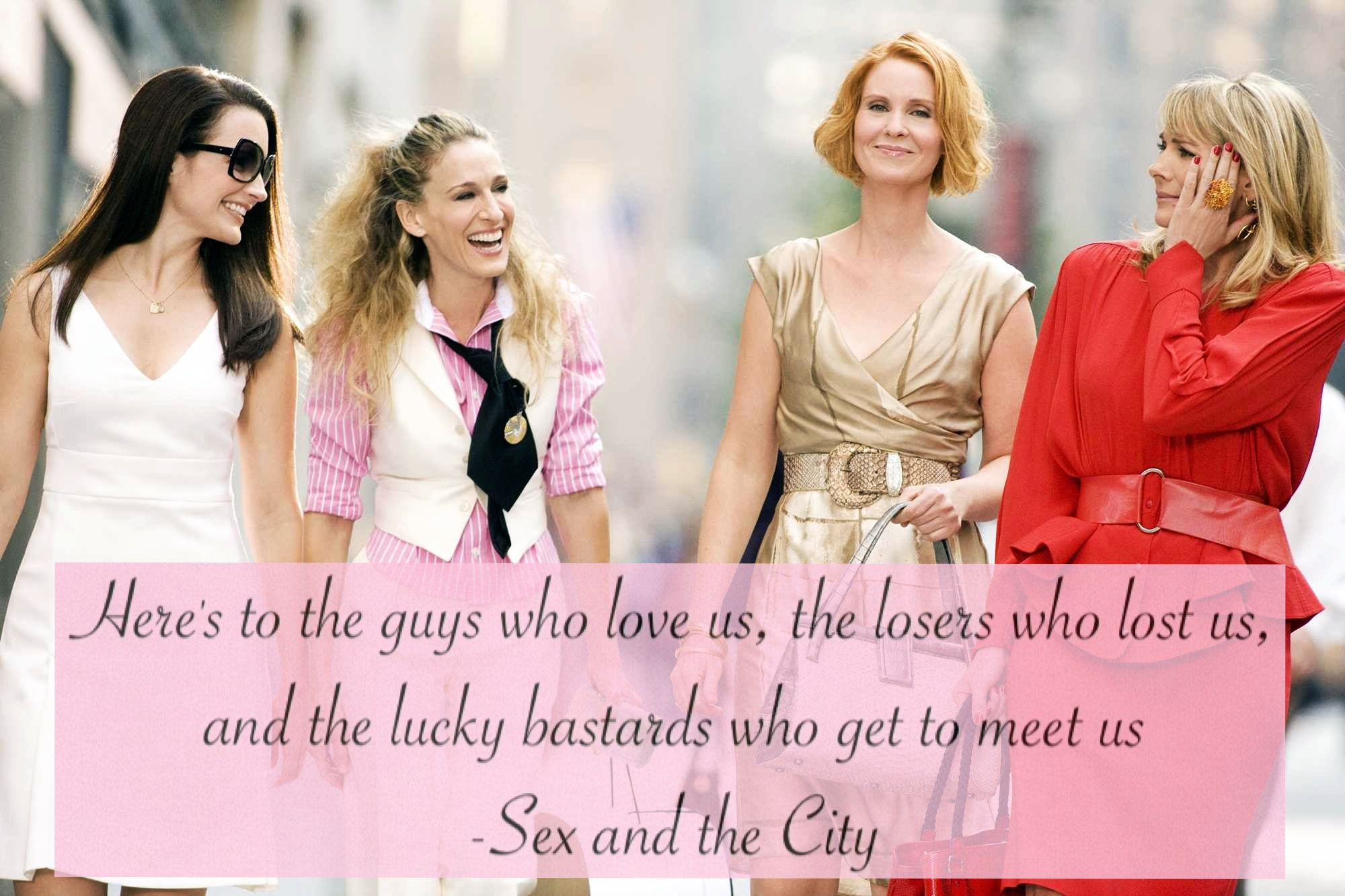 Carrie Bradshaw's Wildest Outfits On Sex And The City