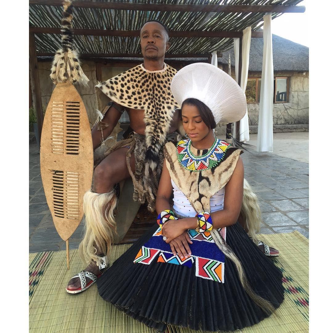 TheNgubanes #ChiefAndTheQueen Qondi being so respectful.... LOL ...