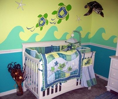 sea turtle nursery i want to live in this room play the little