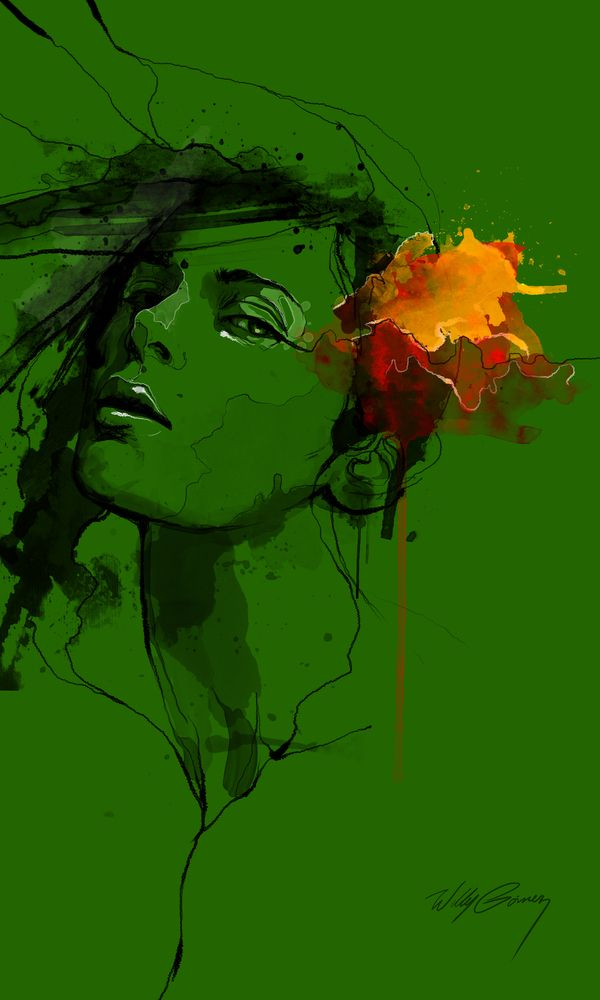 Tremendo arte de un tremendo artista, Willy Gomez