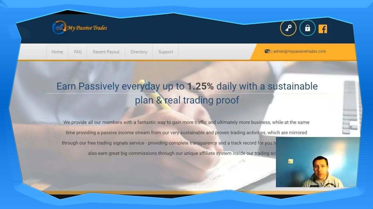 My Passive Trades Review How To Earn Real Bitcoin Online